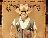 Trustatrader.com Rogue Trader Campaign Imagery