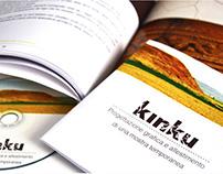 KINKU_progettazione grafica e allestimento mostra temp