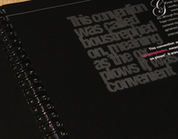 Typography Booklet