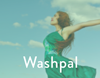 Washpal- Dry cleaning app UI concpet