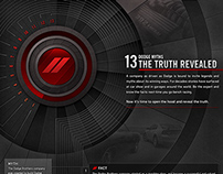 Dodge | 13 Myths | Infographic