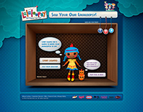 Lalaloopsy | Website Concept