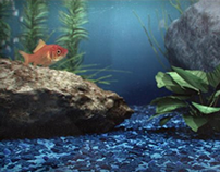 Virtual Aquarium Goldfish