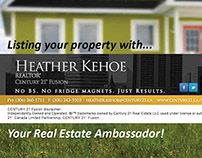 Heather Kehoe Promo Material