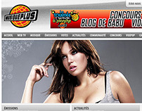 Astral Media / Musique Plus ~ New Homepage Look