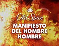 Print | Manifiesto del Hombre Hombre | Old Spice