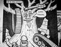 Secret Walls - LucanArt vs Hula Herbert