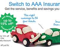 AAA Insurance Email Redesign