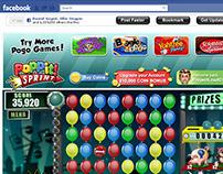 EA POGO GAMES ~ Facebook Game Shell