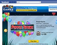 EA POGO GAMES ~ Facebook app