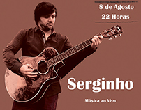 Poster Serginho in Renascer Coffee