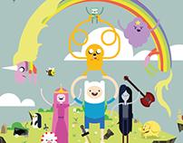 Cartaz Animado - Hora de Aventura