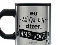 Mug Mixer Eu Amo Você