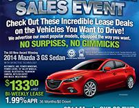 Automotive Dealerships Print Media Display Advertising