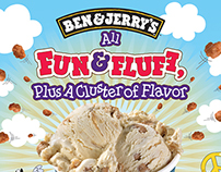 Ben & Jerry's ClusterFluff Campaign
