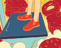Men's Health 94 Illustration