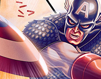 CAPTAIN AMERICA PINUP