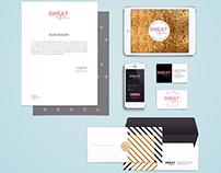 Sweat + Glitter Brand Identity