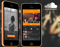 Soundcloud iOS Redesign