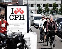 I bike CPH - logo and brand design