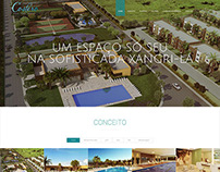 Costero Grand Park Resort - Landing Page