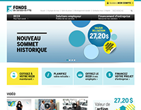 Fonds de solidarité FTQ - Landing Pages
