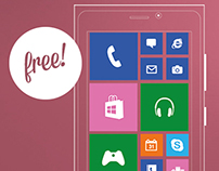 FREE VECTOR WINDOWS PHONE 8 ICONS & WIDGETS