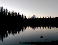 Camping at Mount Lassen