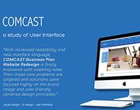 Comcast Business Plan Website Redesign