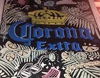 Pizarras cerveza Corona, Agosto 2014