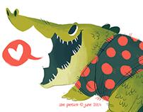 Heavy Hippo & Cutesy Croc