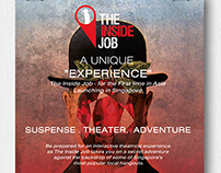 THE INSIDE JOB by GAME ON - POSTER