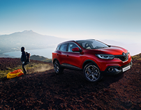 Shooting photo Renault Kadjar