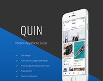Quin - Mobile App Photo Social