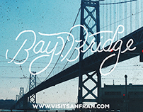 SF Series Hand Lettering Posters