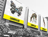 Landfilled