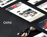OVNI - Multi-Purpose Single Page Theme