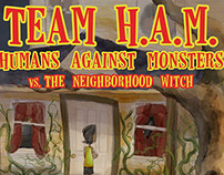TEAM HAM Cover & Chapters