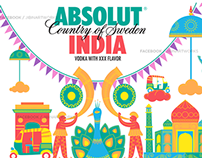 Absolut Vodka India