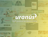 Uranus Responsive pultipurpose wordpress theme