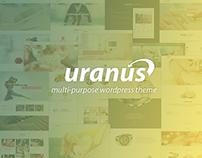 Uranus Responsive pultipurpose wordpress theme