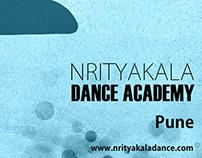 The Art of Movement: Nrityakala Academy Poster Series