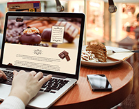 chocolate website template