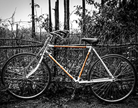 Upcycle · Bamboo bike frame