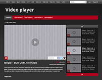 Video player widget RSI.ch