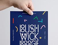 Bushwick Boogie-Festival flyer
