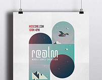 Realm- Digital Design Event poster