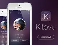Kitovu IOS 8 UI/UX App Design