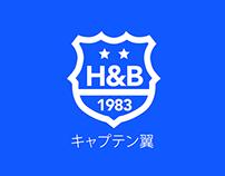 HOLLY E BENJI キャプテン翼  - Branding project