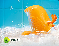 Garnier Children Shampoo / Brave Bath Duck